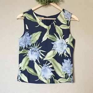 Tommy Bahama VTG Tropical top Small